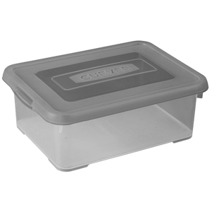 Curver Handy Box 12L - 40x29xh14cm - Smokey Grey 3253920456007
