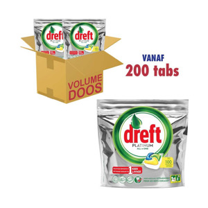 Dreft Platinum All in One Citroen Gigapack 200 tabs 8001841463582