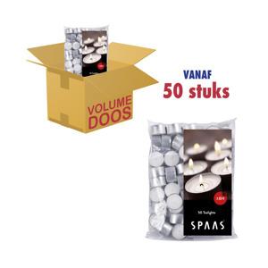 Spaas Theelichtjes 8h - 50 stuks 5411708085391