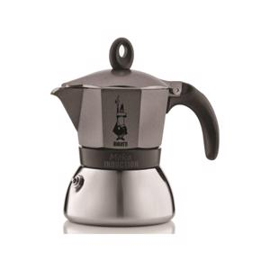 Bialetti Moka Induction Espresso Maker Antraciet 3 Tassen 8006363002790