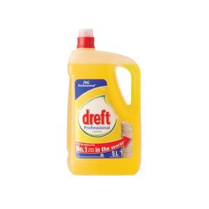 Dreft Professional Afwasmiddel Citroen 5 Liter 8001090888761
