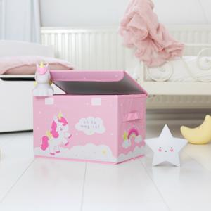 A Little Lovely Company Pop Up Storage Box Unicorn 38x24,5x23,5cm 8719033866058