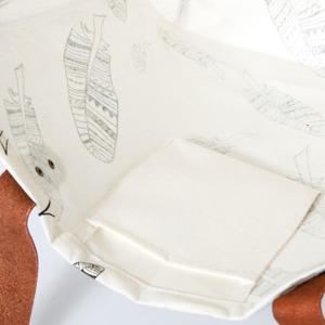Luzinda Shopping Bag Feathers 5407003230093