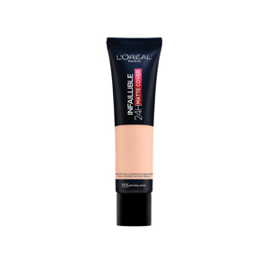 L'Oreal  Infaillible 24H Matte Cover Foundation 155 Natural Rose 3600523784417