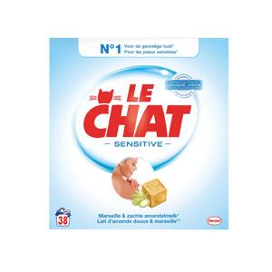 Le Chat Waspoeder Sensitive Marseillezeep 5410091716264