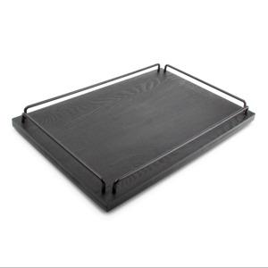 Salt & Pepper Dienblad 45x30xH4,5cm hout zwart Butler 9319882472265