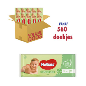 Huggies Baby Doekjes Natural Care Aloe Vera 5029053550152