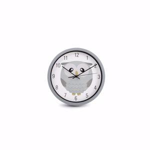 ONA Wandklok 25cm Kids Owl 5410595717279