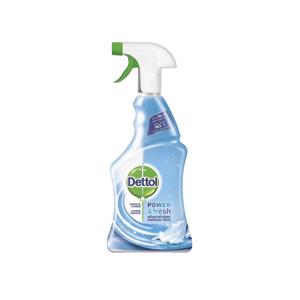 Dettol Power & Fresh Allesreiniger Spray Katoenfris Ontsmetter 5410036102459
