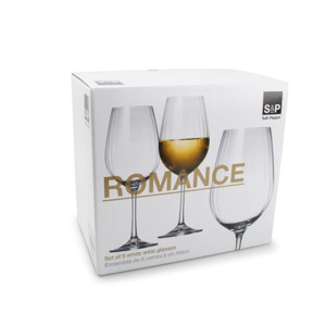 Salt & Pepper Wijnglas 35 cl Romance (set van 6) 9319882481502