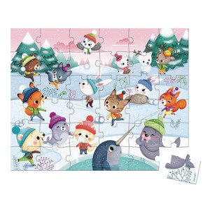 Janod Puzzel Snow Party (36 stukjes) 3700217326623