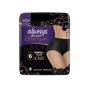 Always Discreet Pants Boutique Plus Large 8001841622453