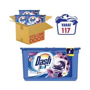 Dash 3 in 1 Pods Lavendel met Lenor 8001090477286