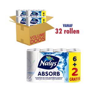 Nalys Absorb Keukenpapier 2-laags 5414913000678