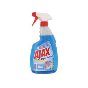 Ajax Triple Action Glas en Gelamineerde oppervlakken Reinigingsspray 8718951340350
