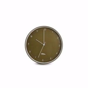 ONA Wandklok 31cm olive Pace 5410595717200
