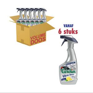 Carolin Vitro Inox Reinigingsspray met Citroen 5410513709904