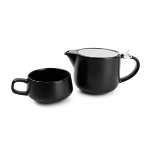 Salt & Pepper Tea for one set 60cl zwart Anders 9319882490757