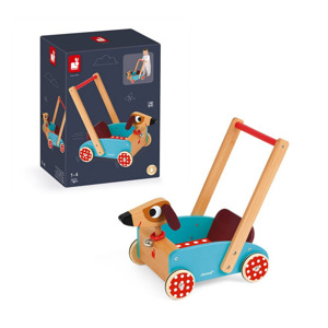 Janod Crazy Doggy Wagen 3700217359959