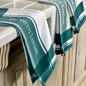 De Witte Lietaer Set van 3 keukenhanddoeken  White-Ponderosa 3/50x70 cm 5410156548052