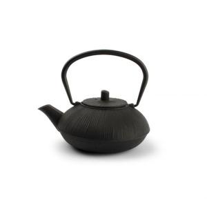 Salt & Pepper Theepot 50cl Gietijzer stripes black My Tea 5410595709076