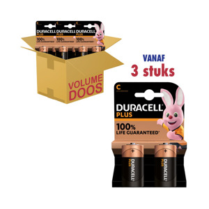Duracell Plus Power C 2-pack 5000394017580