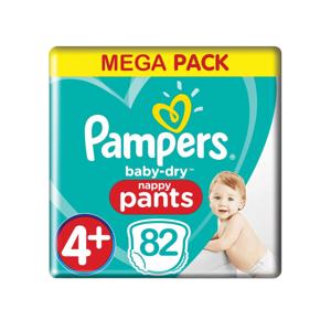 Pampers Baby Dry Nappy Pants 4+ (82 stuks) 8001841072357