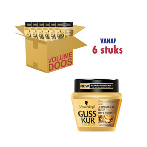 Schwarzkopf Gliss Kur Ultimate Oil Elixir Masker 5410091733650