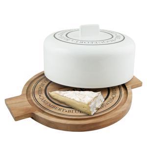 Salt & Pepper Kaasplank 33 cm met stolp 'Fromage' 9319882395052