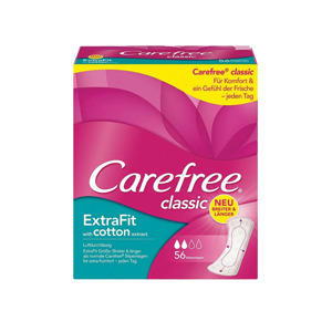 Carefree Classic Inlegkruisjes Extra Fit Cotton 3574661397450