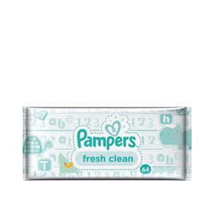 Pampers Fresh Clean Babydoekjes 4015400622703