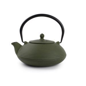 O-Tea Theepot 1.1L Gietijzer Groen 5410595639885