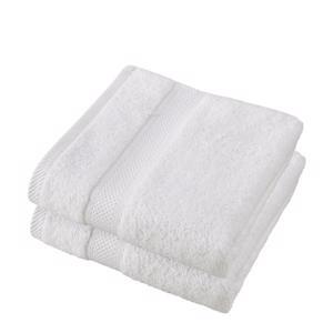 De Witte Lietaer Handdoek Stephanie Wit 50x100cm 5410156406604