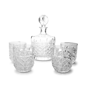 Salt & Pepper Whiskyset 5-delig Piano Bond 9319882479332