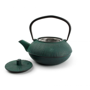 Salt & Pepper Theepot 80cl stripe black/green My Tea 5410595709090