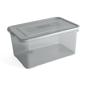 Curver Handy Box 50L - 60x40xh28cm - Smokey Grey 5412006799850