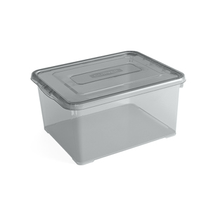 Curver Handy Box 35L - 49x40xh25cm - Smokey Grey 5412006799843
