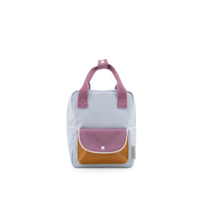 Sticky Lemon Rugzak Small Wanderer Sky Blue+Pirate Purple+Caramel Fudge 7448152357321