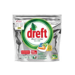 Dreft Platinum All in One Sinaasappel Vaatwascapsules 8001090015266